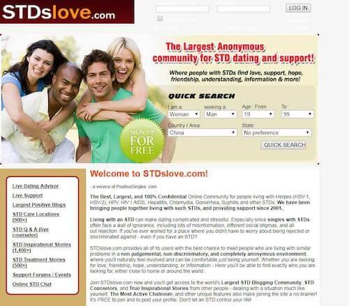 Free herpes dating sites kanada